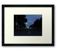 Howard Street Framed Print