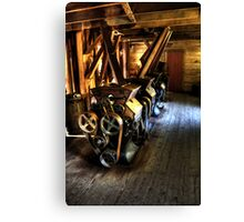 Inside the Alley Spring Mill Canvas Print