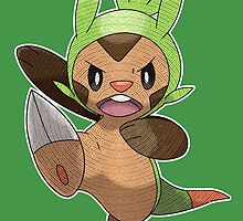 Chespin EX by Eat Sleep Poke Repeat