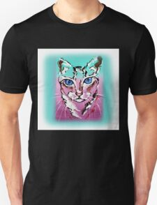Colorful Cat - Animal Art by Valentina Miletic T-Shirt