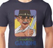 Crocodile Gandhi Unisex T-Shirt
