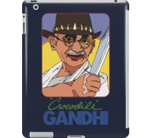 Crocodile Gandhi iPad Case/Skin
