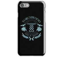 Torchwood - Agent in Training (2) iPhone Case/Skin