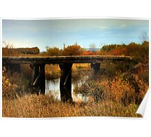 Train Trestle Bridge Poster