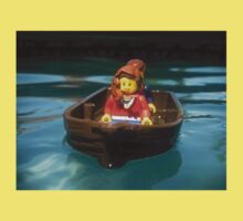 Lego Boat in the Pool Kids Tee