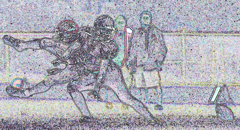 Fairmount vs Mississinewa high school football  by Oscar Salinas