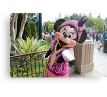 Minnie's Kisses Metal Print