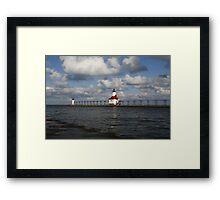 St. Joe Lighthouse Framed Print