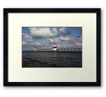 St. Joe Lighthouse Framed Print
