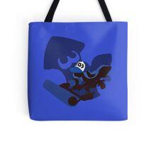 Dark Blue Female Inkling - Sunset Shores Tote Bag