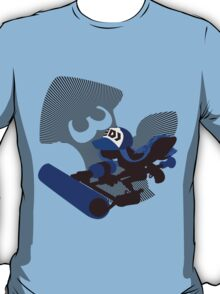 Dark Blue Female Inkling - Sunset Shores T-Shirt