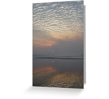 Purple dusk - Great Sandy Strait Greeting Card