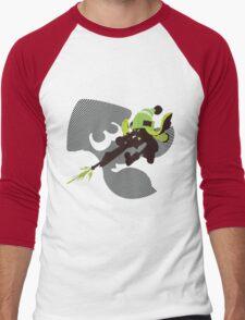 Light Green Female Inkling - Sunset Shores Men's Baseball ¾ T-Shirt