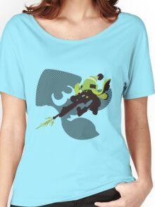 Light Green Female Inkling - Sunset Shores Women's Relaxed Fit T-Shirt