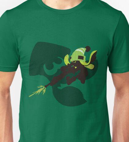 Light Green Female Inkling - Sunset Shores Unisex T-Shirt