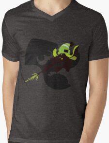 Light Green Female Inkling - Sunset Shores Mens V-Neck T-Shirt