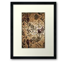 Golden Morning - Woodcut Chine Colle Framed Print