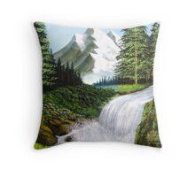 Majestic Falls Throw Pillow