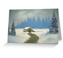 Winter wonder Greeting Card