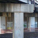 Railway Walls by Joan Wild