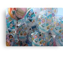 Disneyland 60 Magical Balloons Metal Print