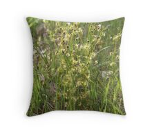 Tall Sundew Throw Pillow