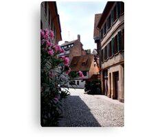 Rue des Moulins Canvas Print