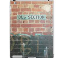 Bus Section iPad Case/Skin