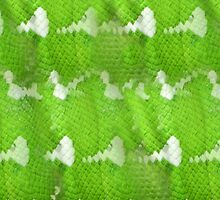Emerald Tree Boa Leather by WanderingMuse