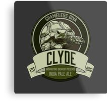 Brownstone Brewery: Clyde 'Shameless Diva' IPA Metal Print