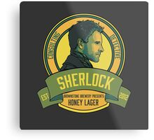 Brownstone Brewery: Sherlock Holmes Honey Lager Metal Print