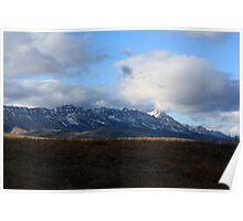 Livingstone Mountain Range Poster