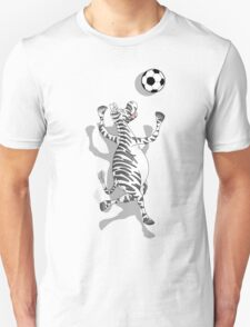 Zebra Football T-Shirt