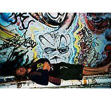 graffitti angel Photographic Print