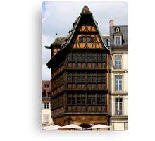 Strasbourg Classics III Canvas Print