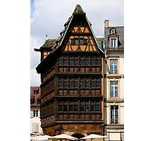Strasbourg Classics III Photographic Print