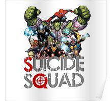 suicide squad crossover Poster