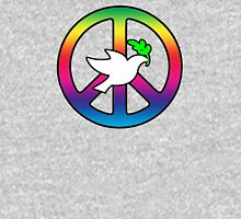 Peace Sign (With Dove of Peace) Hoodie