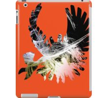 Ho oh- Color Splatter iPad Case/Skin