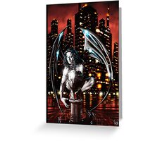 Robot Angel Painting 013 Greeting Card