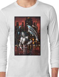 Robot Angel Painting 013 Long Sleeve T-Shirt