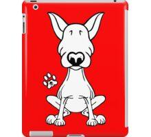 English Bull Terrier 1 iPad Case/Skin