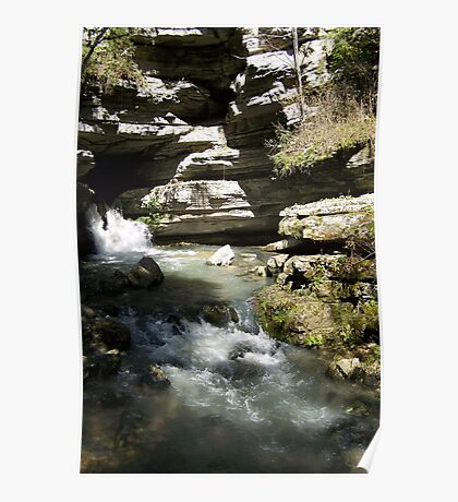 Blanchard Springs the Waterfall Poster