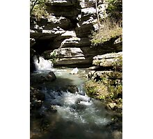 Blanchard Springs the Waterfall Photographic Print