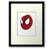 the crayola spiderman Framed Print