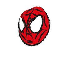 the crayola spiderman Photographic Print