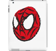the crayola spiderman iPad Case/Skin