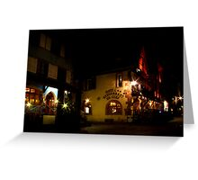 Alsace Nights Greeting Card