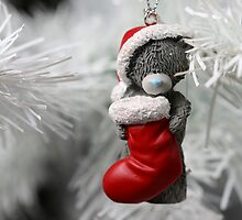 Christmas Stocking Bear by JaimeWalsh