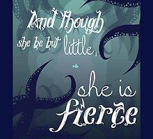She is Fierce by Mariah Peek